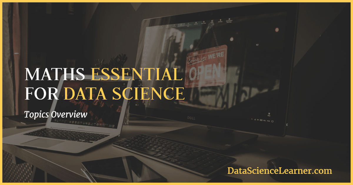 maths essential for data science featured image