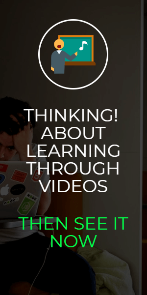 thinking about learning through videos ac