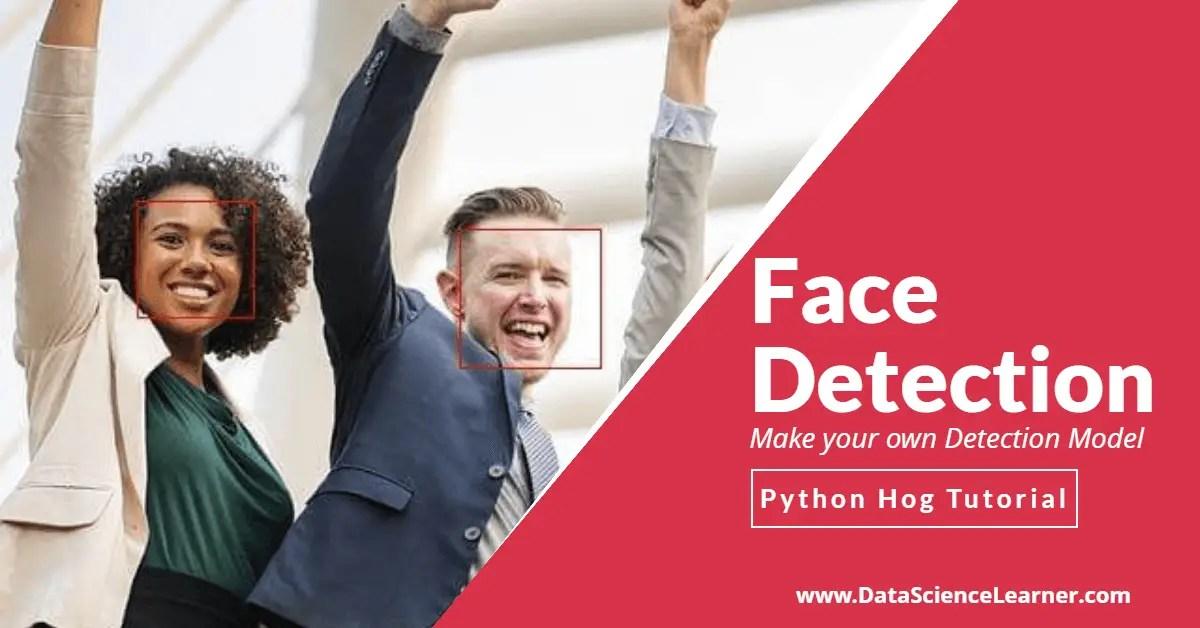 Face Detection using Python HOG