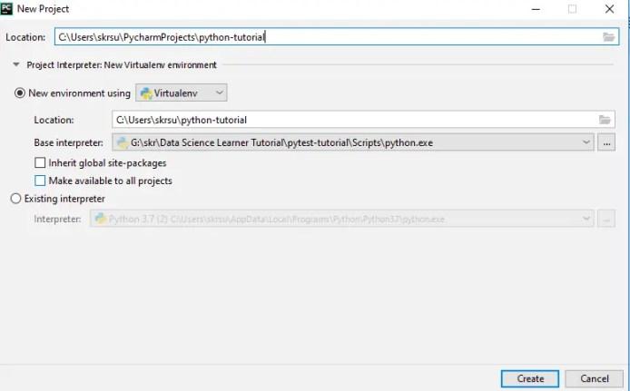 modify the base intrepretor for the python