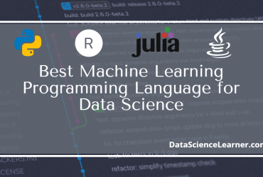 Best Machine Learning Programming Language for Data Science