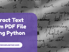 Extract Text from PDF File Using Python