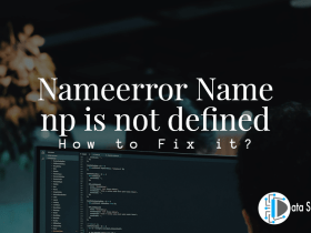 Nameerror Name np is not defined featured image