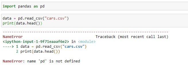 Not properly imported pandas module error in Jupyter NotebookNot properly imported pandas module error in Jupyter Notebook