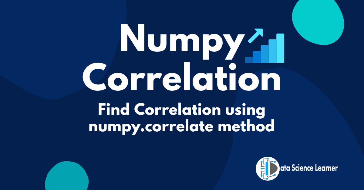 Numpy Correlation finding featured image