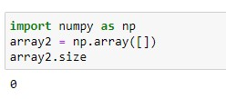 Checking 1D Empty Array