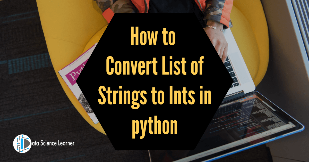 How to Convert List of Strings to Ints in python