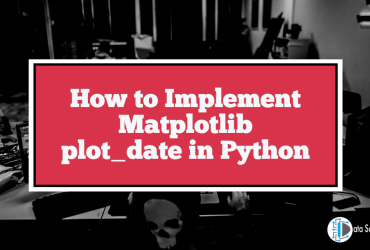 How to Implement Matplotlib plot_date in Python