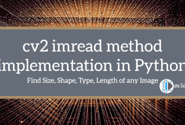 cv2 imread method implementation in Python