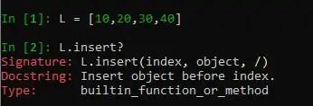 Accessing Object Method Documentation