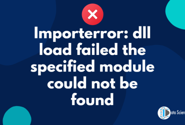 Importerror_ dll load failed the specified module could not be found