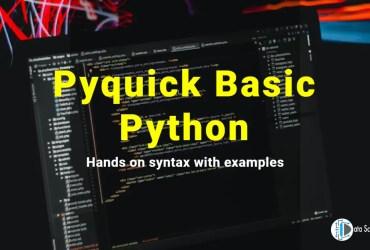 Pyquick Basic Python featured image