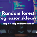 Random forest regressor sklearn