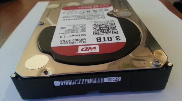 Test WD Red hard diska