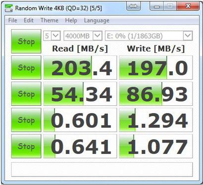 CristalMark-Seagate 2TB 5-4000 USB3.0