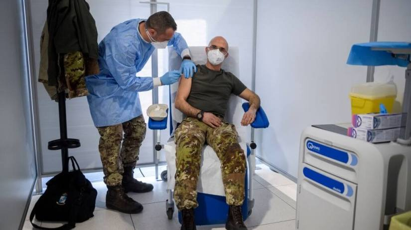 Making COVID Vaccination Mandatory For Military
