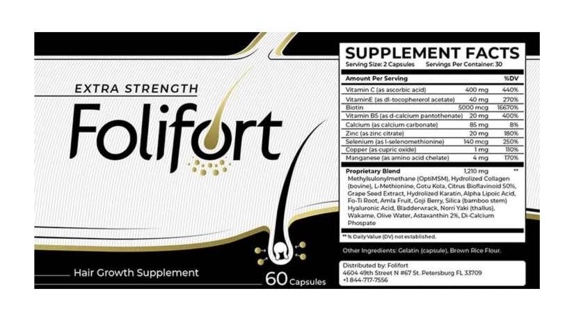 Folifort dosage