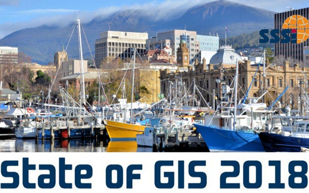 Tasmania State of GIS 2018