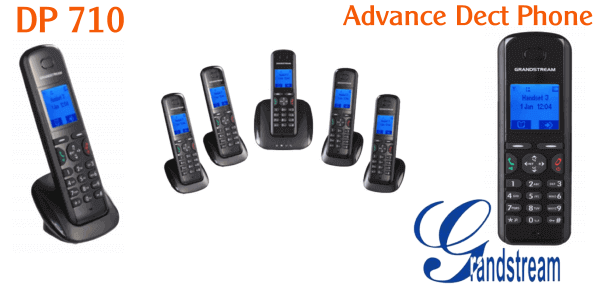 Grandstream DP710 Dect Phone Dubai Grandstream DP710 Dect Phone Dubai