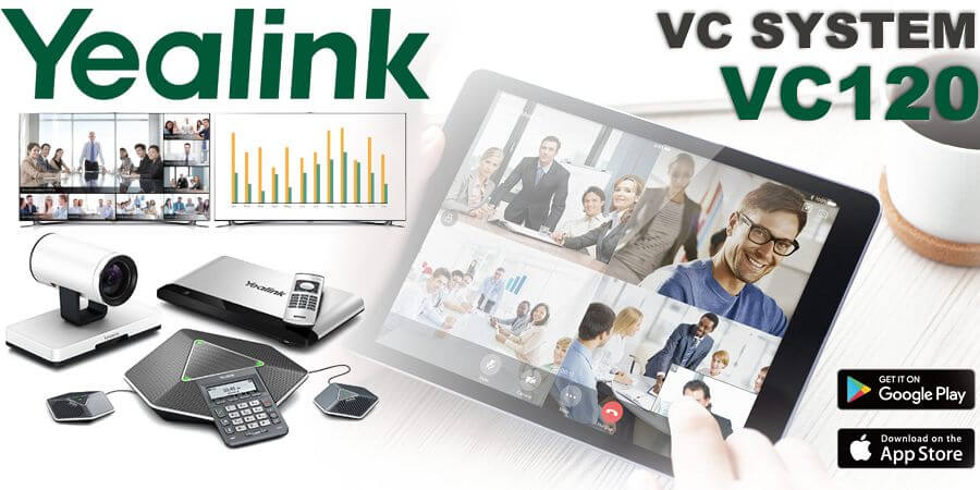 Yealink VC120 Video Conferencing Systems UAE Yealink VC120 Video Conferencing