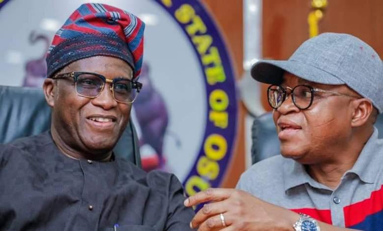 Oyetola celebrates his 'loyal deputy' Alabi at 55