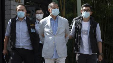 Photo of Lai: Hong Kong media tycoon arrested under security law