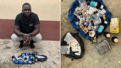 Photo of Police arrest suspect who peddles codeine, tramadol, 'manpower'
