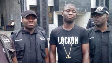 Photo of Nigerian serial killer Gracious David-West to hang