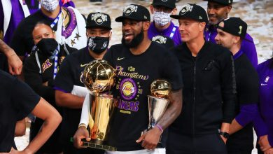 Photo of LeBron James leads Lakers to 17th NBA championship