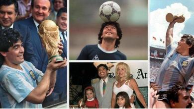 Photo of Diego Maradona's career in pictures