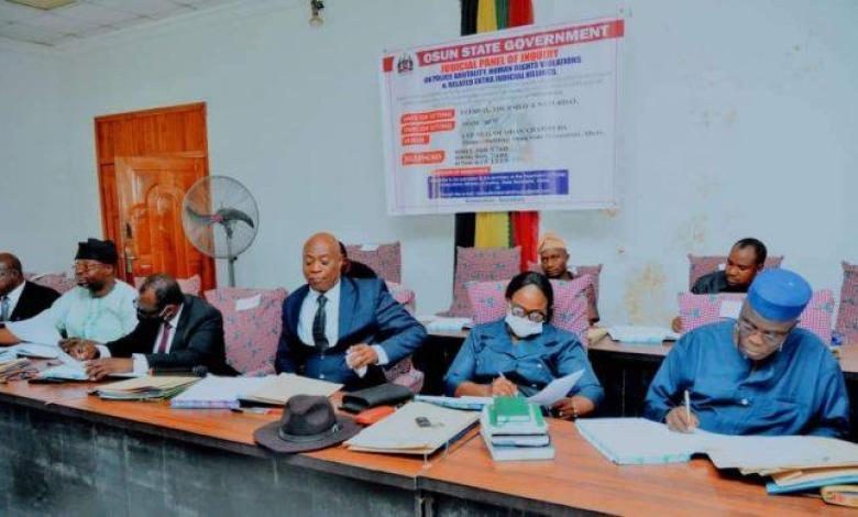 Police brutality: Osun judicial panel hears seven cases, receives 11 petitions