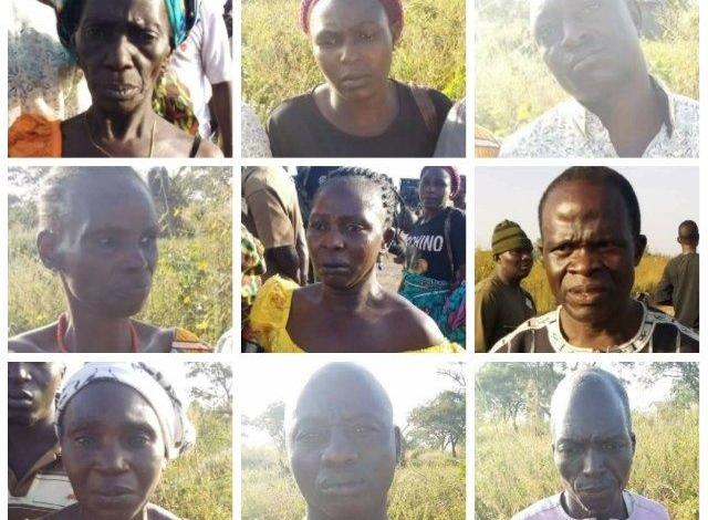 9 people rescued by troops from kidnappers along Kaduna - Abuja Highway