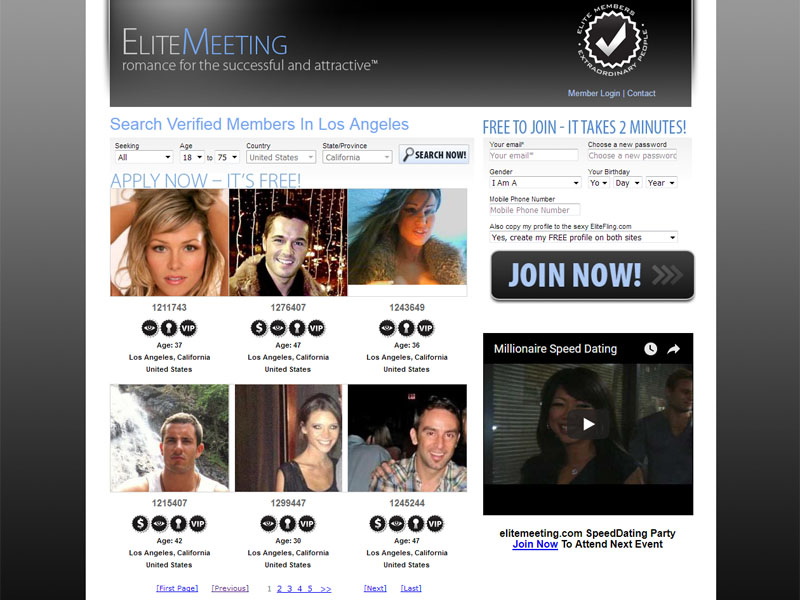 What do dating sites offer