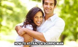 attract a Scorpio man