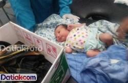 Polisi Buru Pelaku Pembuang Bayi di Pesisir Selatan