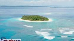 Pulau Panangalat di Kabupaten Kepulauan Mentawai yang masuk dalam situs jual beli pulau wisata dunia, yakni privateislandsonline.com. (Foto: privateislandsonline.com.