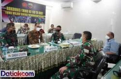 Sukseskan TMMD, Bupati dan Ketua DPRD Mentawai Ikut Rakor TMMD
