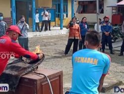 Simulasi Penanggulangan Kebakaran Digelar di Sikakap