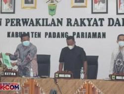 Fraksi PKB Minta Pemkab Padangpariaman Jangan Berhutang