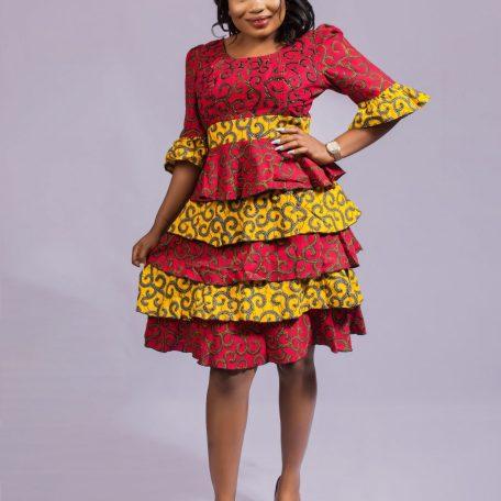 African Vintage Dress
