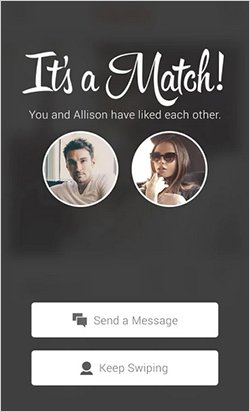 tinder dating app