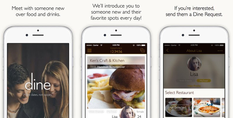 Dine dating app review