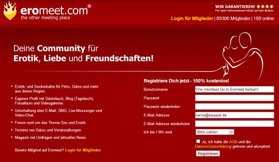 Eromeet.com - Erotik-Community