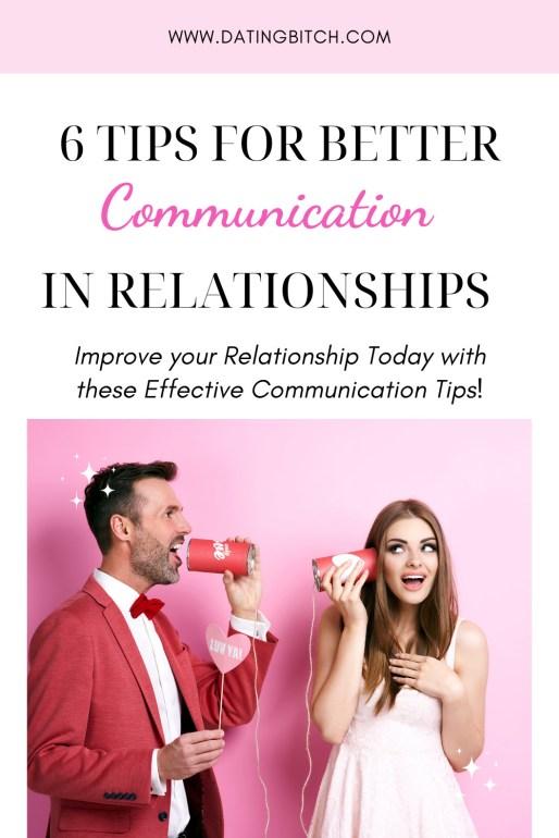 6 Tips for Better Communication Pin