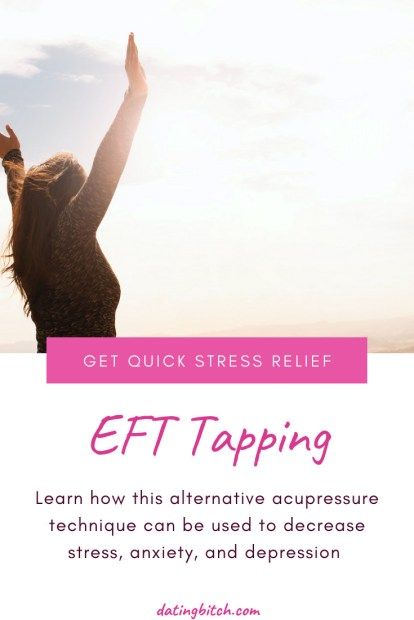 Stress Relief with the EFT Tapping method pin