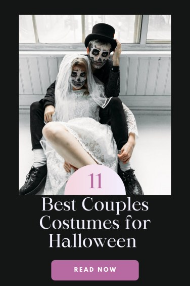 Best couples costumes for Halloween pin