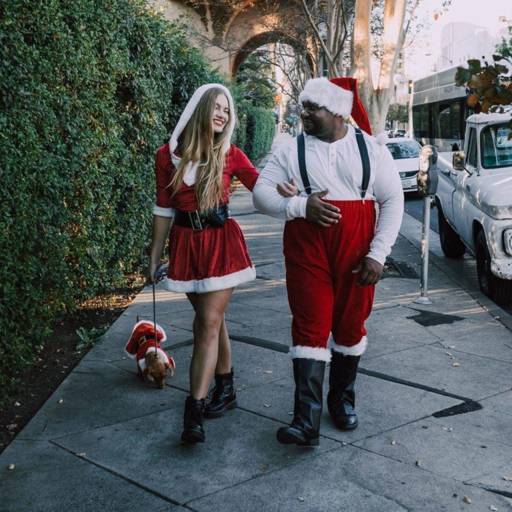 Man and Woman Santa Costume