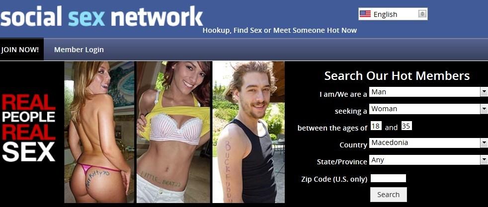 Social sex dating site