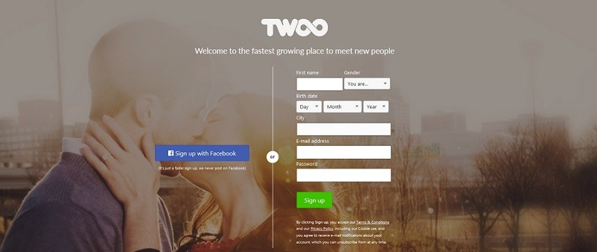 Twoo dating site
