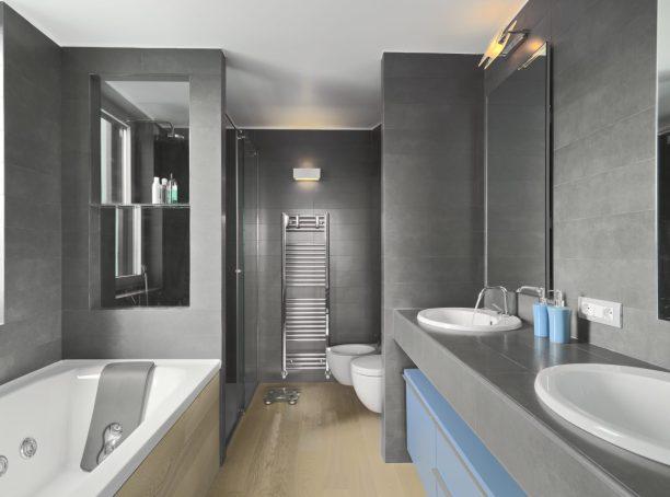 salle de bain de luxe moderne et